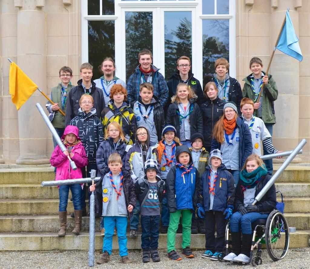"""Wochenende im März 2013 zum Thema """"Star Wars"""" in Bad Salzschlirf - 19 Kindern und 5 Betreuer"""
