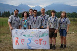 Gruppenfoto der Lumdataler in der hohen Tatra